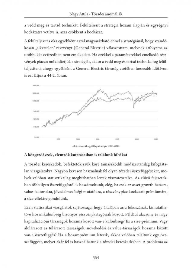 pénzügyi piaci anomáliák hogyan ábrázolhatunk trendvonalat hisztogramból