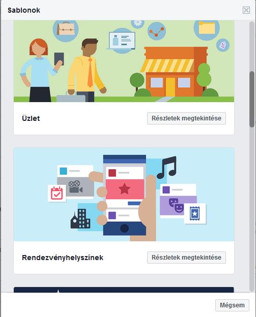 Facebook Bolt létrehozása – ShopRenter